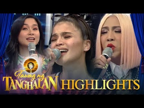 Tawag ng Tanghalan: Mariel, Anne and Vice sing the song of their lives