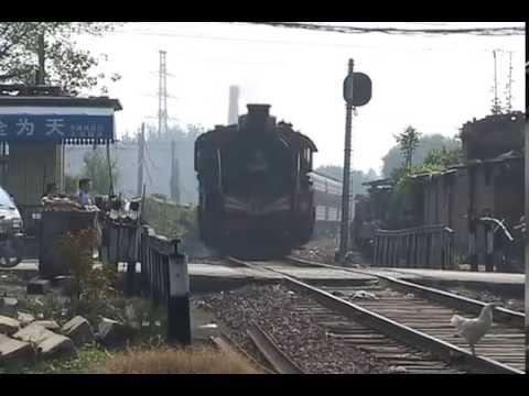 Steam Of Pingdingshan Coal Mine Railway China(Sep.2004) 2  中国・平頂山炭鉱鉄道の蒸気機関車(2004年9月)2
