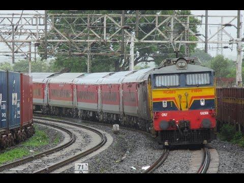 INAUGURAL RUN - 22355 Patna-Mumbai CST AC Suvidha Express !!