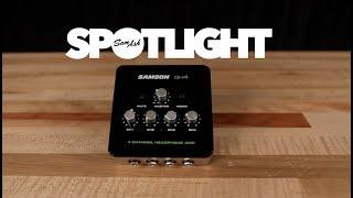 Samson QH4 4-Channel Headphone Amplifier Unboxing