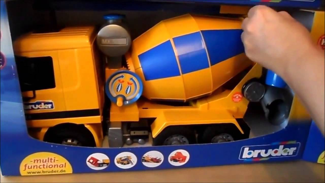 2015 Top 5 German Bruder Toys From Concrete Mixer To Garbage Truck