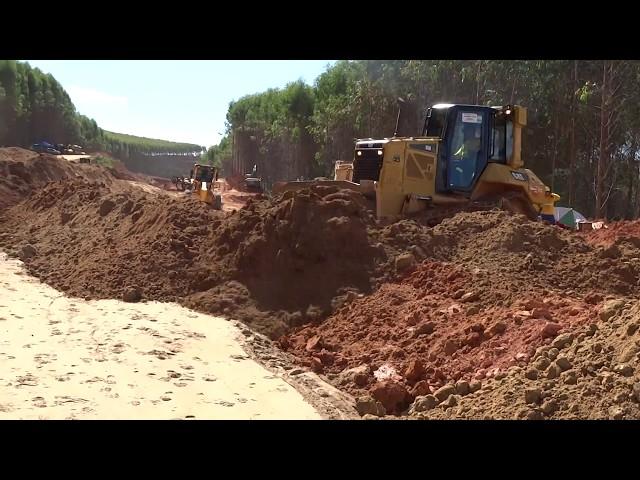 Assentamento de tubulação de ferro fundido - Recobrimento II