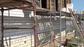 Облицовка дома кирпичом под прут.(У Валеры в Тараново 2014)(Это видео создано с помощью видеоредактора YouTube (http://www.youtube.com/editor), 2015-01-15T14:21:30.000Z)