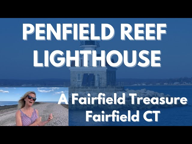 Penfield Reef Lighthouse highlights, Fairfield  CT