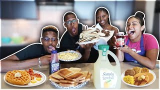 Carmen vs Corey | Cooking Breakfast !! **Hilarious**