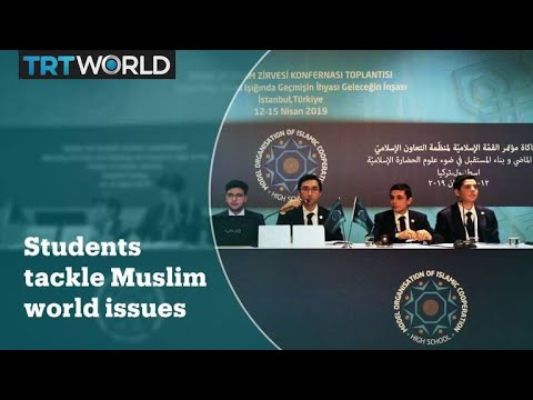 Students tackle issues in the Muslim World at model OIC