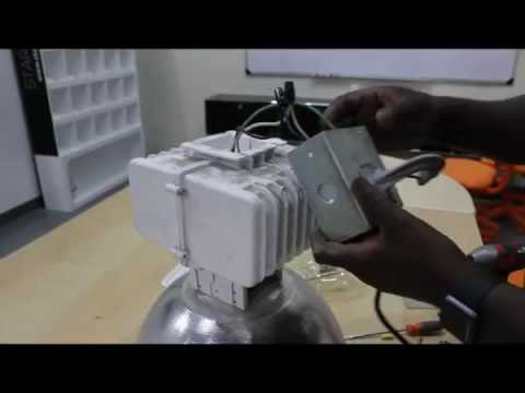 Starled Ballast Bypass Instruction For Led High Bay Installation