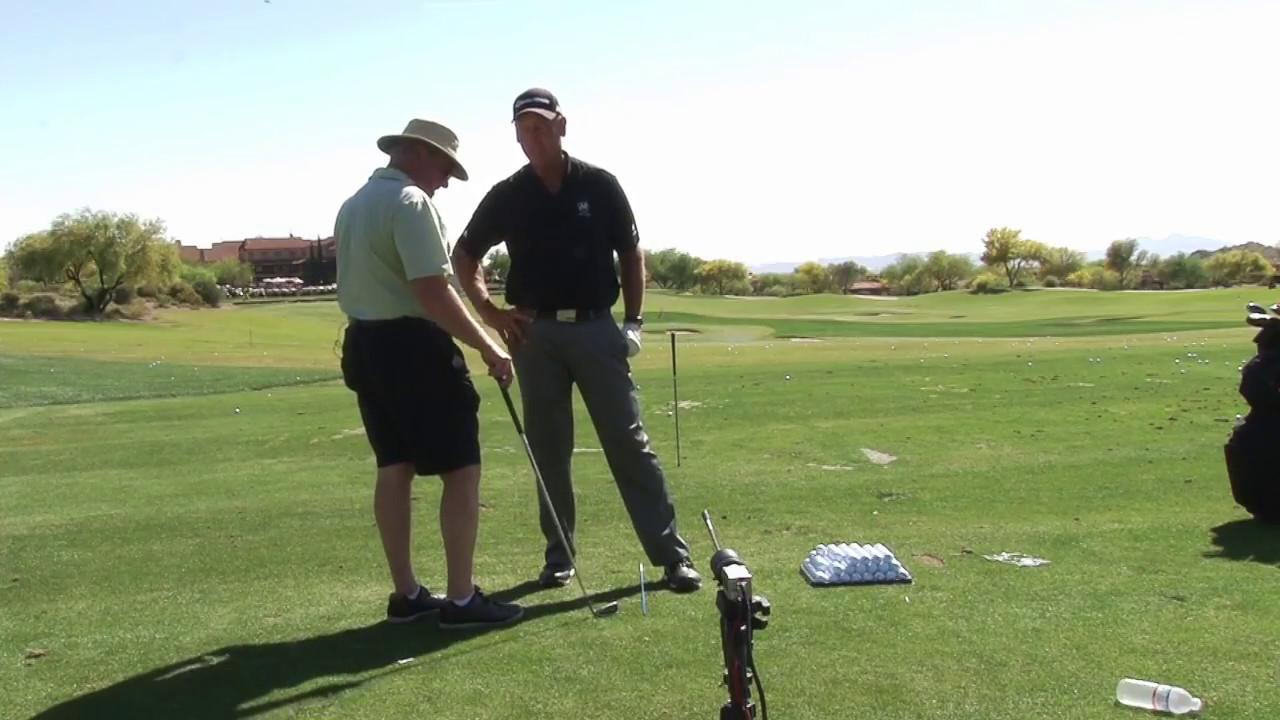 Fixing a Sliding Golf Swing Wrist Hinge