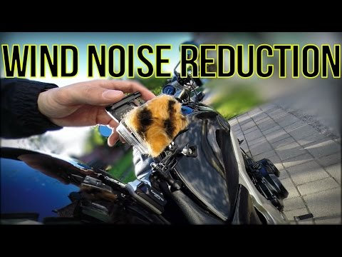 GoPro Wind Noise Reduction - Tutorial & TEST   Come&GetMe