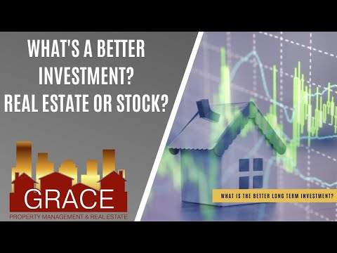 What's the Better Investment? Real Estate or Stocks?