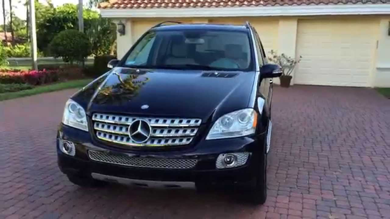 Sold 2008 Mercedes Benz Ml320 Cdi Awd Suv Very Clean Low Miles 1 Owner You