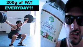 Olympic Weightlifting | CrossFit and Keto | Cheat Day Behind the scenes