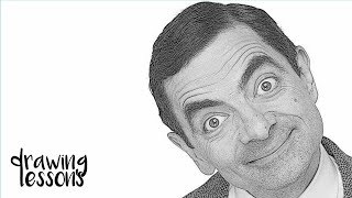 How to draw Mr. Bean (Easy Tutorial) Step by Step Guide [MUST WATCH]