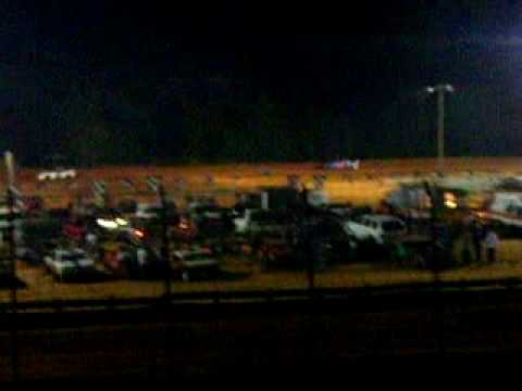 Central Alabama Motor Speedway 7-31-2010 Heat race #3 Terry Merritt won