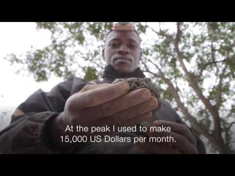 DR Congo Miner Risks All For Copper