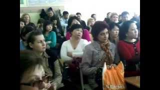 Открытые уроки учителей 3-х месячных курсов 22 школы г.Кентау Казахстан