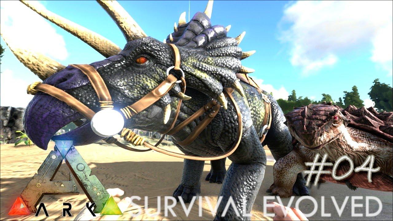 Ark survival evolved ep 04 epic trike bros tamed triceratops ark survival evolved ep 04 epic trike bros tamed triceratops saddle server gameplay youtube malvernweather Gallery