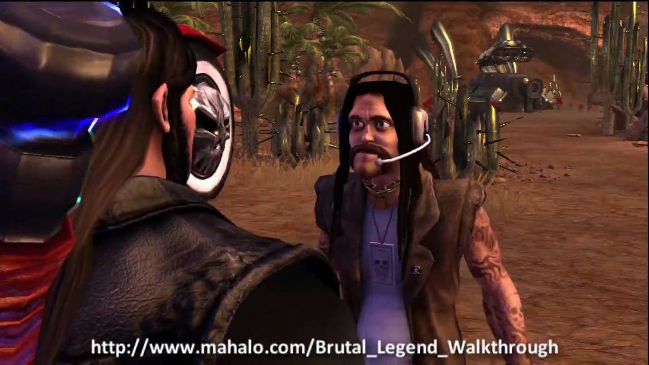 Brutal Legend Walkthrough Mission 8 Fists Shall Fall Part 1 Youtube