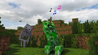 ♫ MOBS MUSICAL : MONSTER SCHOOL - MINECRAFT ANIMATIONS