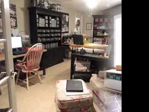 Diy Sewing Room Organization Decorating Ideas Youtube