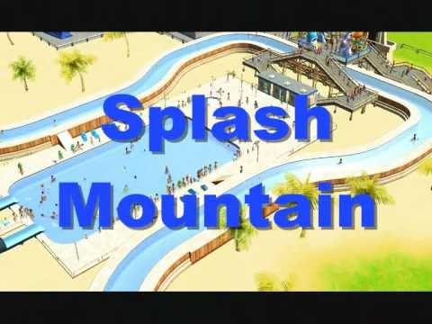 RCT3 Splash Mountain Water Park - YouTube