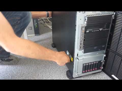 How to replace the BBWC in HP Proliant ML350 G5 server