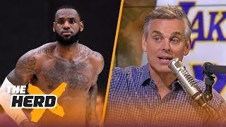 Colin Cowherd has a message to the L.A. media about LeBron James   NBA   THE HERD
