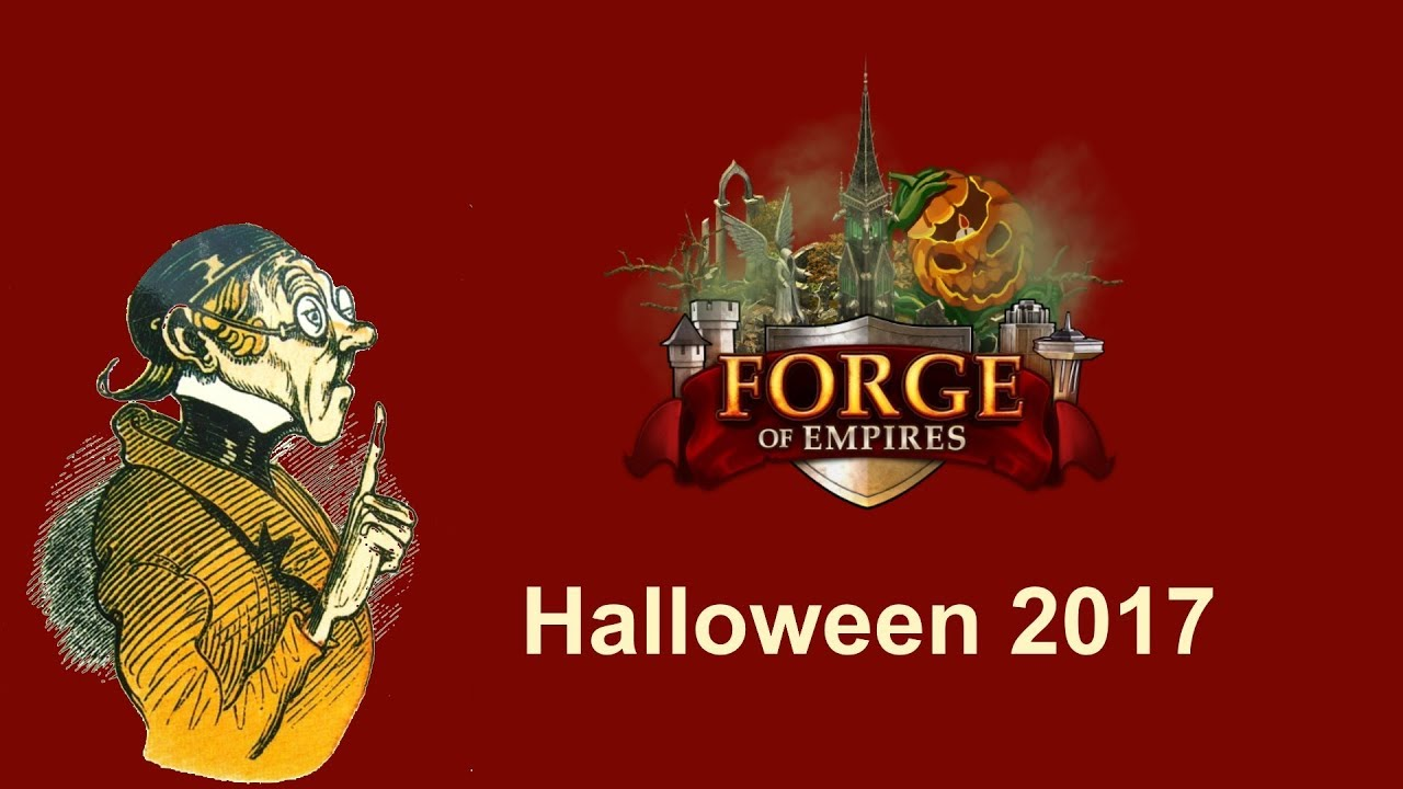 FoEhints: Halloween 2017 in Forge of Empires - YouTube