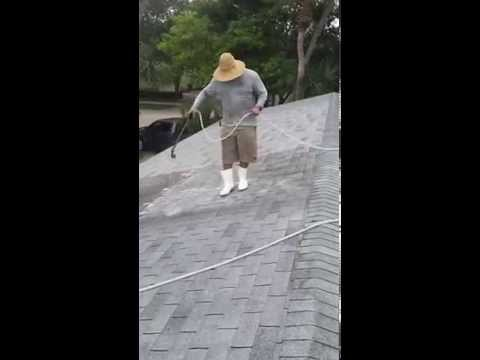 Vero Beach and Indian River Shores Roof Cleaning with Hook & Ladder Pressure Cleaning