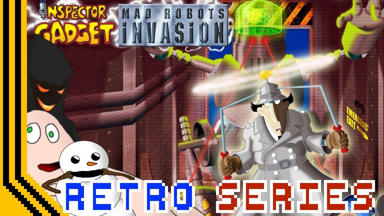 invasion Inspector gadget mad robots
