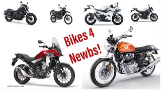 Top 10 Beginner Motorcycles for all Riders