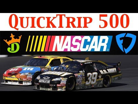 Folds of Honor QuickTrip 500 NASCAR DFS DraftKings & Fanduel Picks & Preview 2019