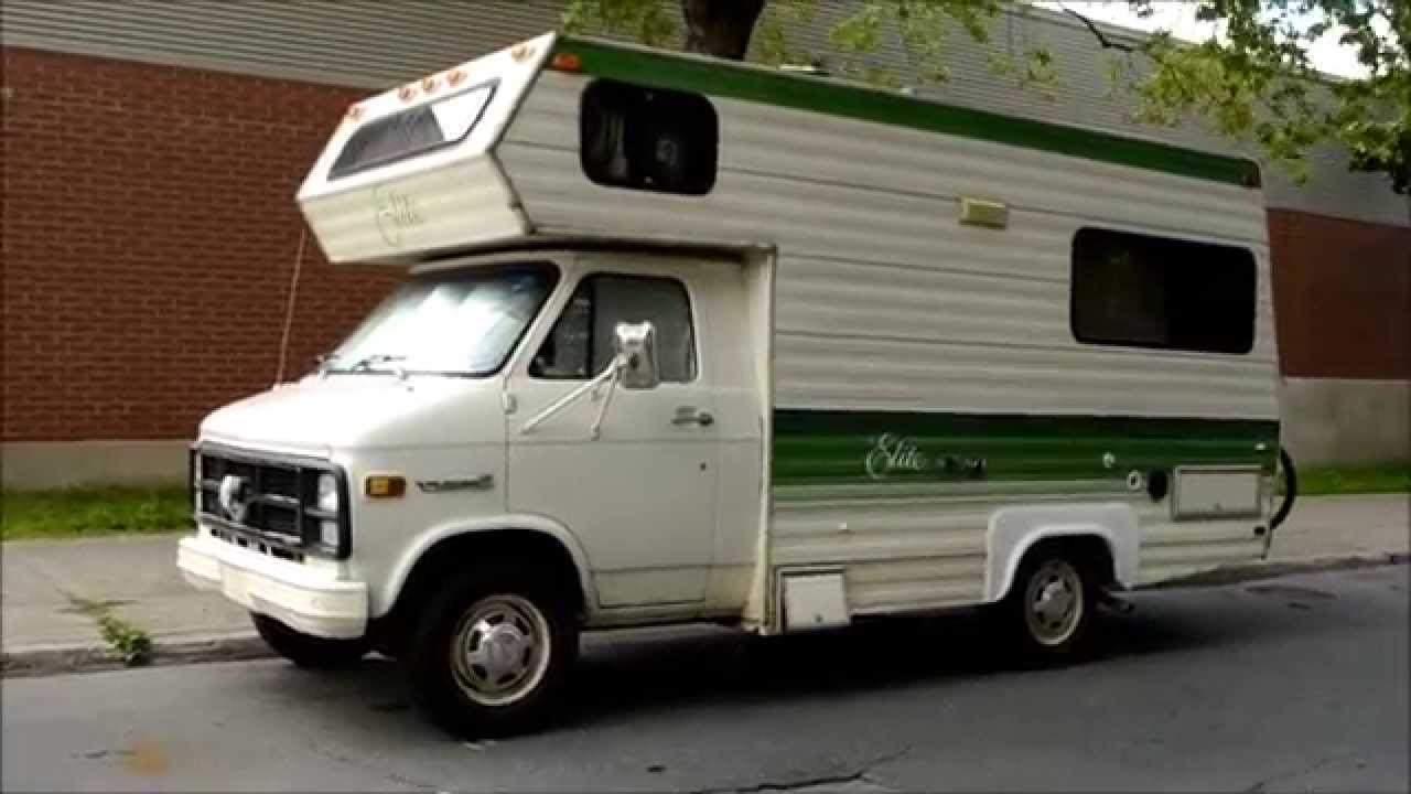 Gmc Camper >> Old Gmc Elite Camper Sighting Youtube