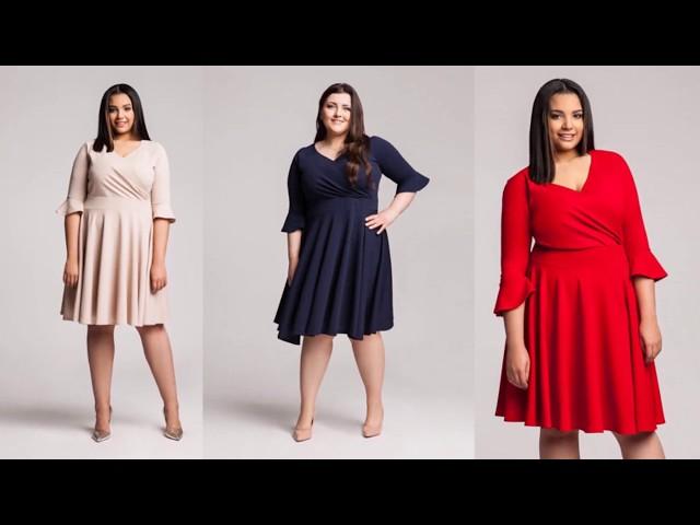 Moda plus size - inspiracje na 2018 rok // Plus size clothing