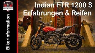 Indian FTR 1200 / Modell 2020 / Erfahrungen, Reifen + weitere Infos