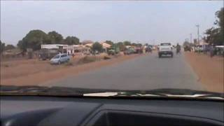 Driving Through Wau City 2011 Part 1.wmv