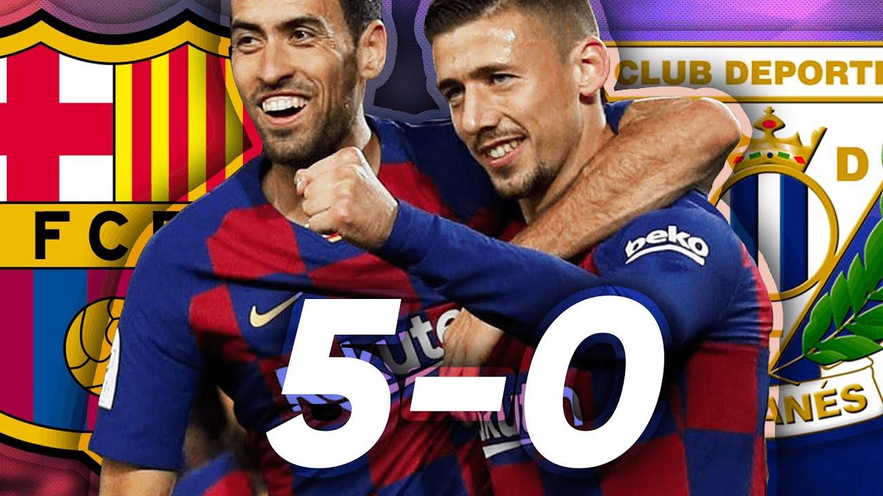 Barcelona vs. Leganes - Football Match Report - January 30, 2020 ...