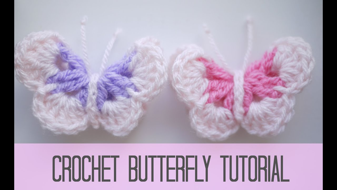 CROCHET: Butterfly | Bella Coco - YouTube