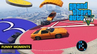 GRAND THEFT AUTO V | FUNNY MOMENTS \u0026 GAMEPLAY, OVERTIME RUMBLE