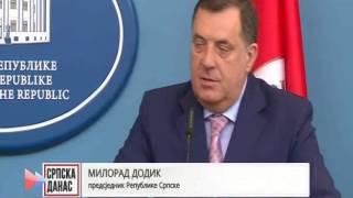 Dodik-Grujičić: Skupštinska Većina U Srebrenici će Biti Rehabilitovana