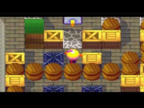 [GBA EMU]Ms. Pac-Man Maze Madness - Pac Crackle Pop 3:08