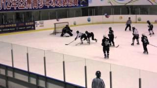 2012 亞洲青少年冰球錦標賽 2012-10-06 U14 銀獸 vs 維京人 季軍賽