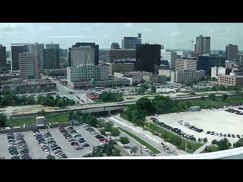 Downtown Winnipeg | 17 | View from Human Rights Museum | July 2015