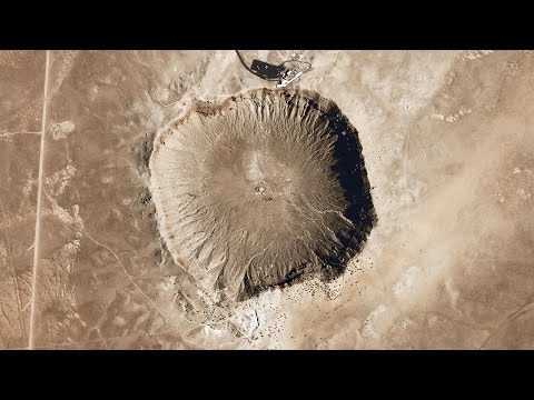 What Happens When Large Meteorites Fall to Earth?