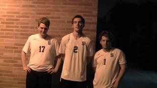 Matt Hoertz, Patrick Marx and Patrick Abercrombie after Mater Dei Loss