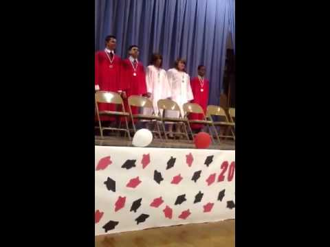 Glenndon graduation from Burnham elementary school 2012