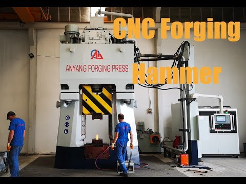 Anyang CNC forging hammer forge gear blank in Turkey