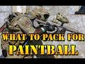 What to pack for BIG Paintball Games!