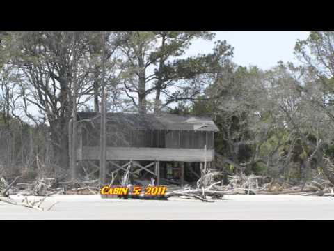 Merveilleux Hunting Island State Park: Cabin Road, A Victim Of Beach Erosion. Part 1.  February 2016.