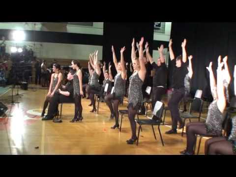 Houlton Maine - 2010 Jazz Show Choir ME State High School Music  Festival.